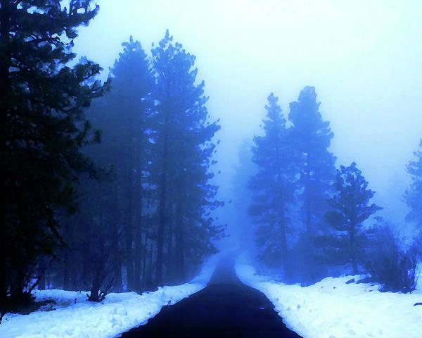 Spokane Digital Art - Into The Misty Unknown by Ben Upham III