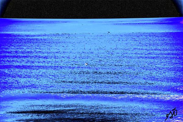 Into The Ocean Void Art Print