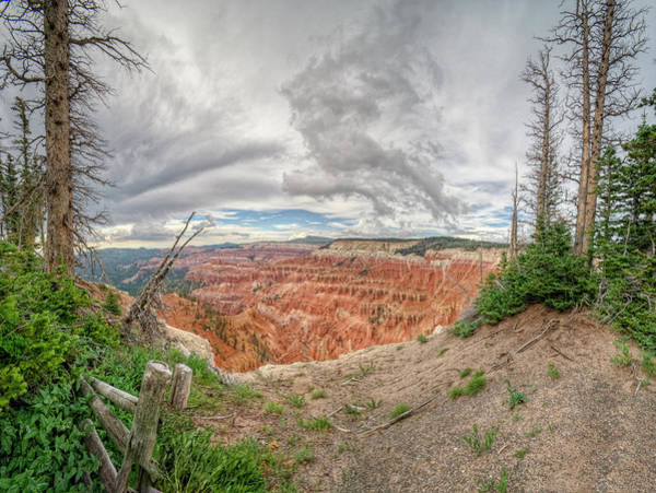 Cedar Breaks Photograph - Into The Storm by Stephen Campbell