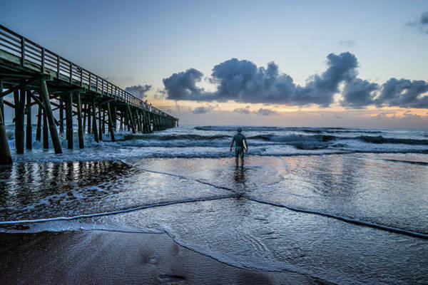 Flagler Beach Photograph - Into The Wave by Jason Sponseller