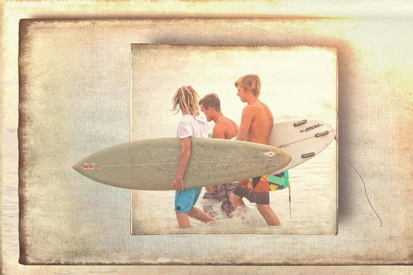 Photograph - Into The Waves by Alice Gipson