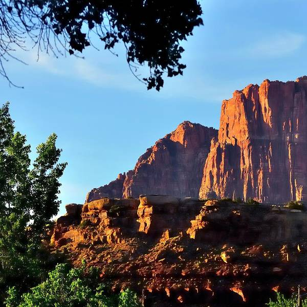 Photograph - Into Zion by Jerry Sodorff