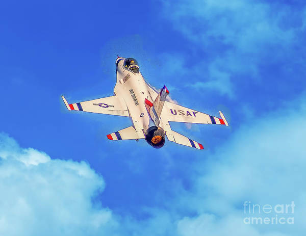 Photograph - Into The Wild Blue Yonder by Nick Zelinsky