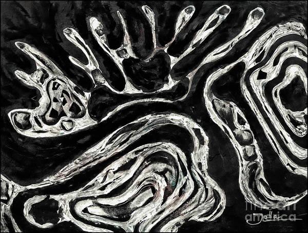 Painting - Intoxicating Opposites by Jolanta Anna Karolska