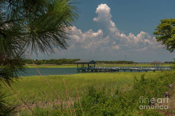 Photograph - Intracoastal Water In Sullivan's Island South Carolina by Dale Powell