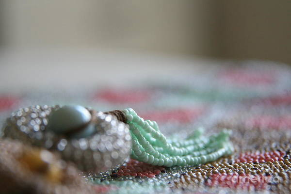 Beading Photograph - Intricate Too by Lynn England