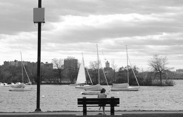 Photograph - Introspection On The Charles by Christopher Brown