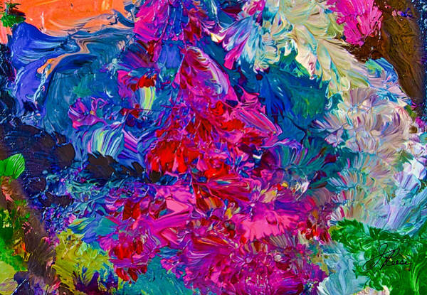 Painting - Intuitive Painting by Joan Reese