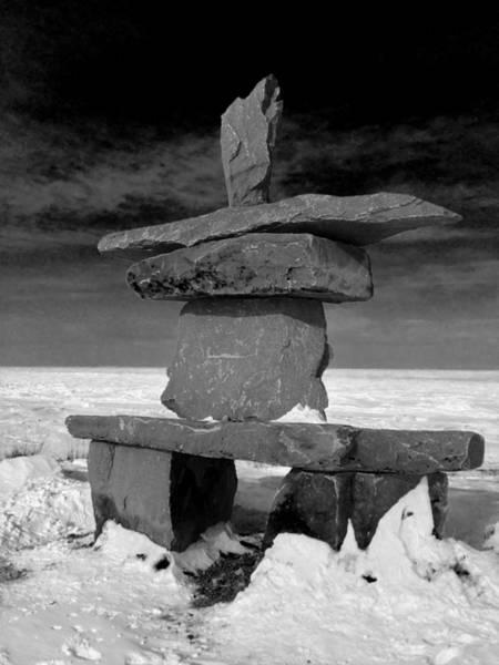 Photograph - Inucshuck On Hudson Bay by David Matthews