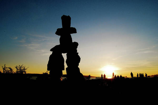 Cesar Wall Art - Photograph - Inukshuk by Cesar Marino
