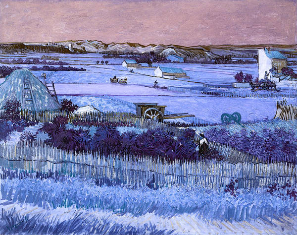 Digital Art - Inv Blend 18 Van Gogh by David Bridburg