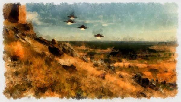 Crash Painting - Invasion by Esoterica Art Agency