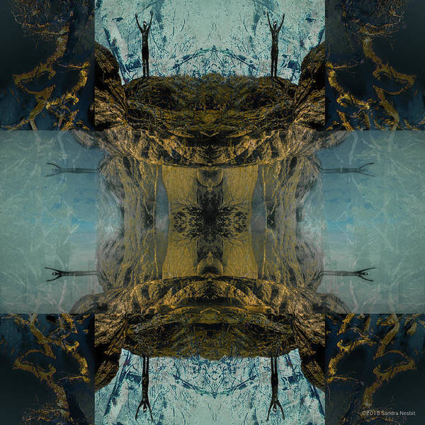 Multiple Exposure Digital Art - Gratitude by Sandra Nesbit