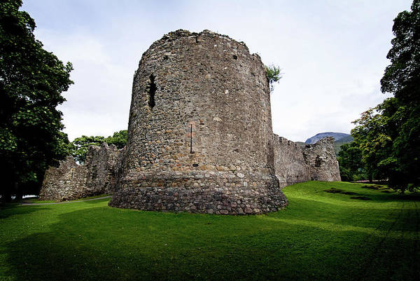 Photograph - Inverlochy Castle by Bud Simpson