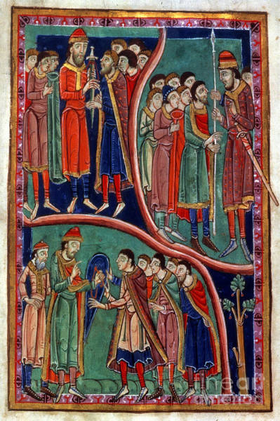 Painting - Investiture Of St. Edmund by Granger