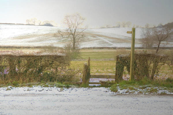 Invitation To A Winter Walk Art Print by Aleck Rich Seddon