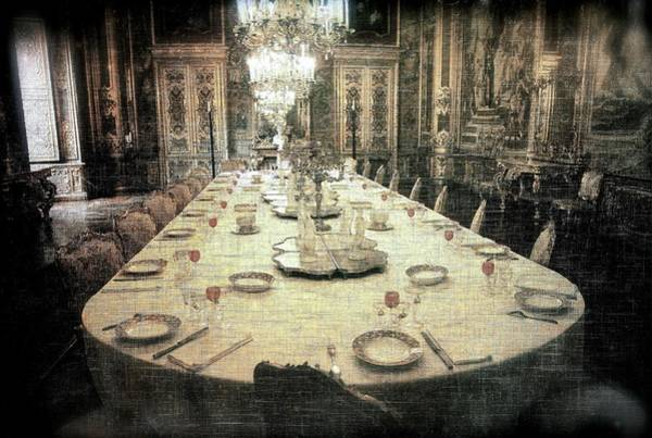 Photograph - Invitation To Dinner At The Castle... by Vittorio Chiampan