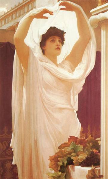 Painting - Invocation by Frederick Lord Leighton