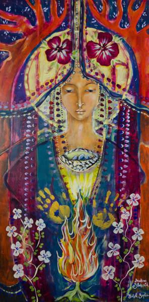 Invoking Shekinah Art Print