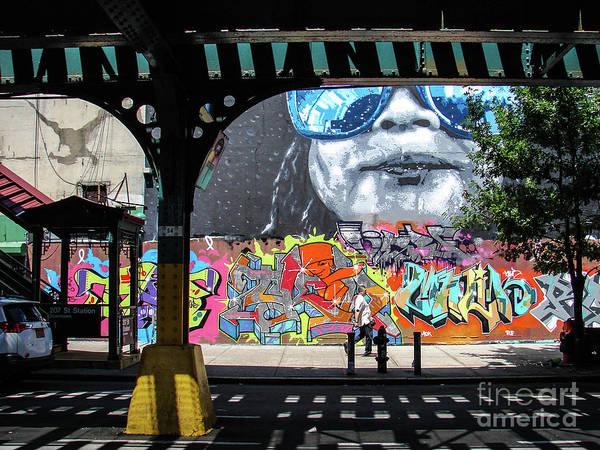 Photograph - Inwood Grafitti by Cole Thompson