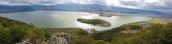 Wall Art - Photograph - Ioannina Lake Panorama by Iordanis Pallikaras