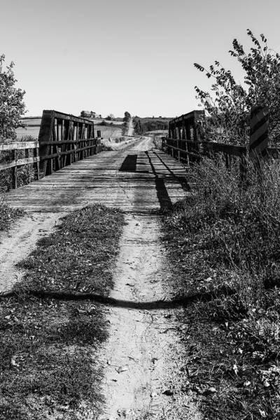 Photograph - Iowa Country Road by Edward Peterson