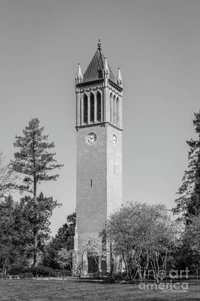 State College Photograph - Iowa State University Campanile by University Icons