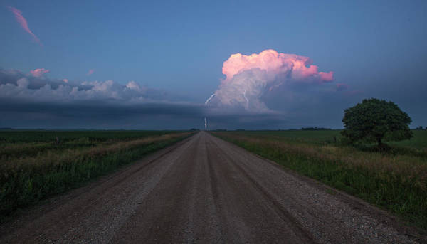 Wall Art - Photograph - Iowa Supercell by Aaron J Groen