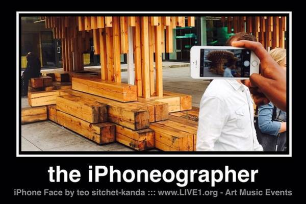 Photograph - iPhone Face by Teo SITCHET-KANDA