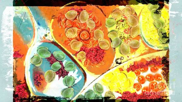 Painting - Ipod Love Salad  by Catherine Lott