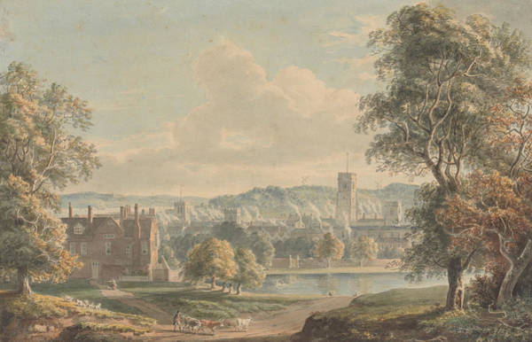 Painting - Ipswich From The Grounds Of Christchurch Mansion by Paul Sandby