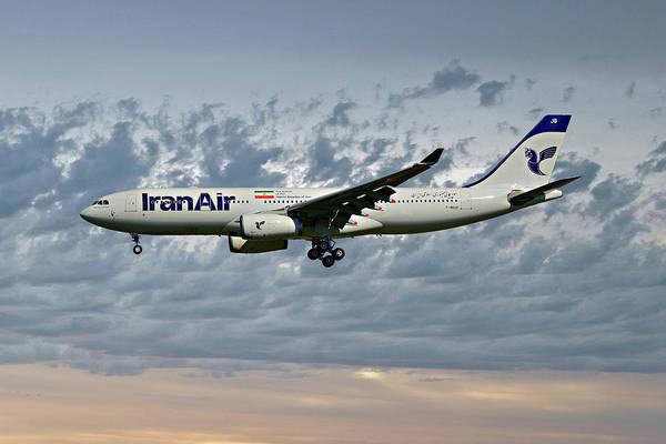 Iran Wall Art - Photograph - Iran Air Airbus A330-243 113 by Smart Aviation
