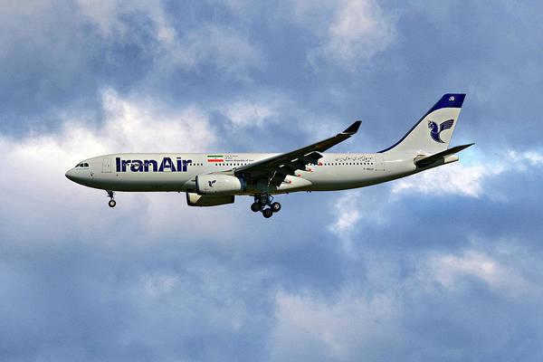 Iran Wall Art - Photograph - Iran Air Airbus A330-243 118 by Smart Aviation