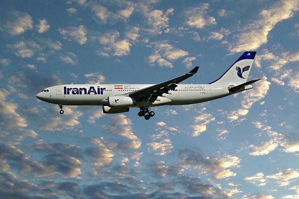 Iran Wall Art - Photograph - Iran Air Airbus A330-243 119 by Smart Aviation
