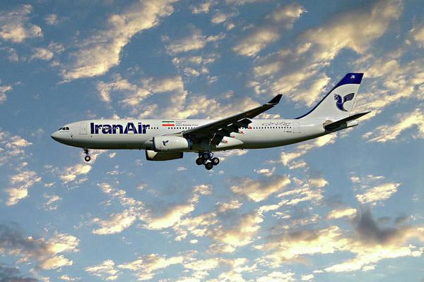 Iran Wall Art - Photograph - Iran Air Airbus A330-243 120 by Smart Aviation