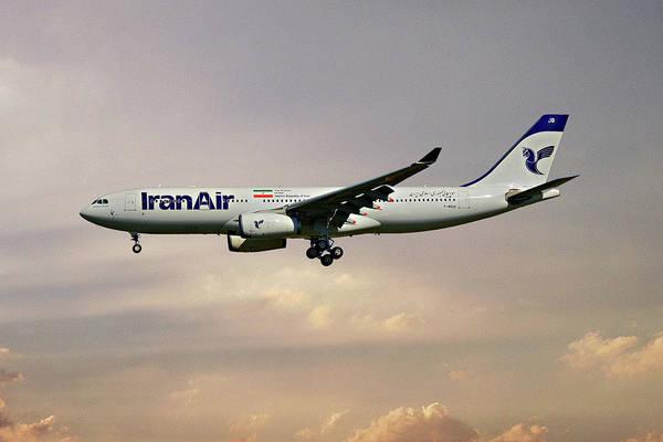Iran Wall Art - Photograph - Iran Air Airbus A330-243 121 by Smart Aviation