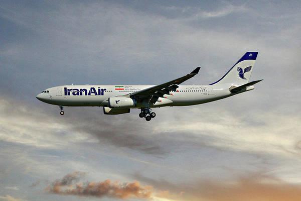 Iran Wall Art - Photograph - Iran Air Airbus A330-243 122 by Smart Aviation