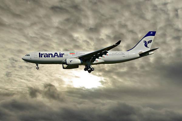 Iran Wall Art - Photograph - Iran Air Airbus A330-243 115 by Smart Aviation