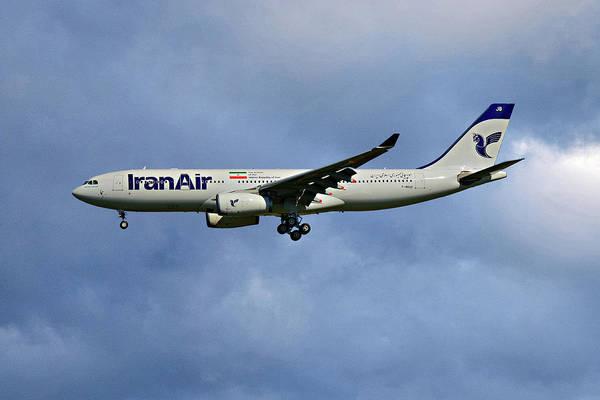 Iran Wall Art - Photograph - Iran Air Airbus A330-243 117 by Smart Aviation
