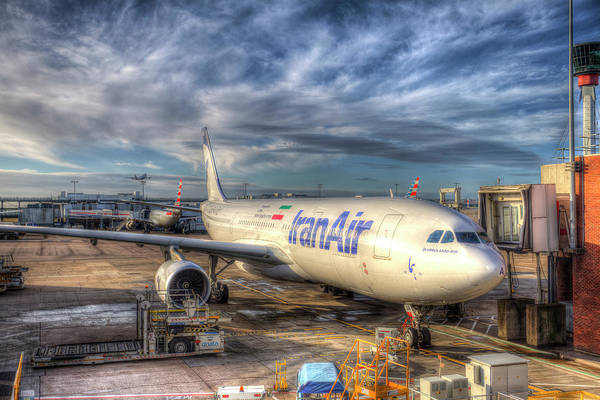 Wall Art - Photograph - Iran Air Airbus A330 by David Pyatt