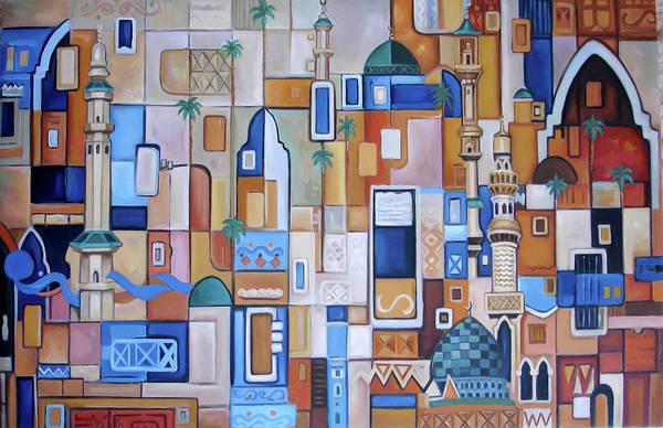 Baghdad Painting - Iraq by Saleh Masad