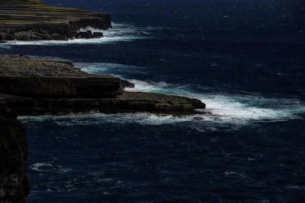 Photograph - Ireland Inishmore Aran Island Coastal Landscape by Enrico Pelos