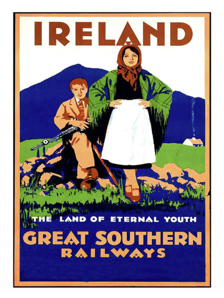 Eternal Painting - Ireland, The Land Of Eternal Youth by Long Shot