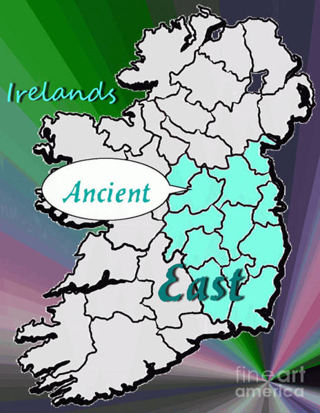 Digital Art - Now Tour Irelands Ancient East by Val Byrne