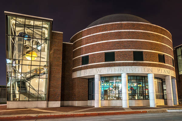 Photograph - Irene W. Pennington Planetarium by Andy Crawford