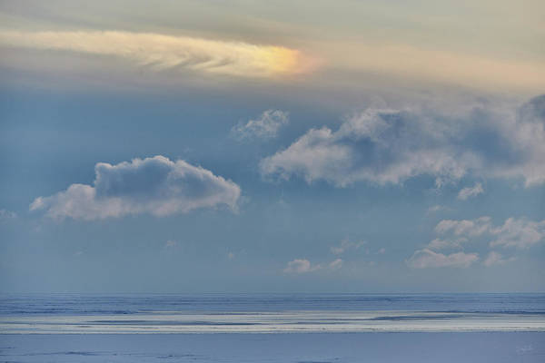 Photograph - Iridescence Horizon by Doug Gibbons