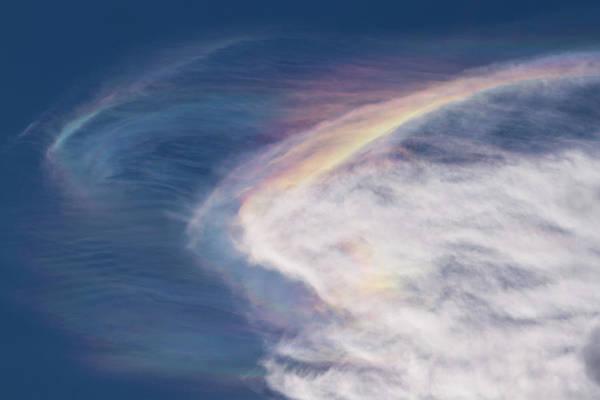 Photograph - Iridescent Clouds by Paul Rebmann