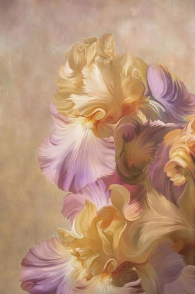 Digital Art - Lovely Iris by Ramona Murdock