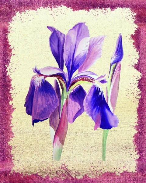 Painting - Iris Dream by Irina Sztukowski