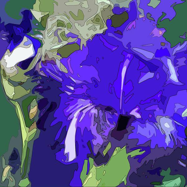 Digital Art - Iris Impressions by Gina Harrison